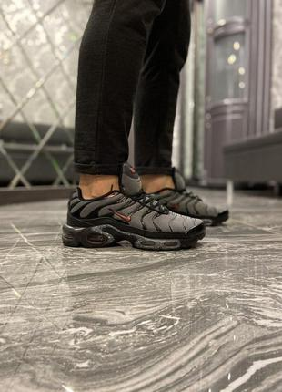 Nike air max tn plus black grey