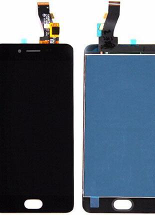 Дисплей Meizu M3s (Y685Q/ Y685H)/ M3s mini с сенсором Черный/ Бел
