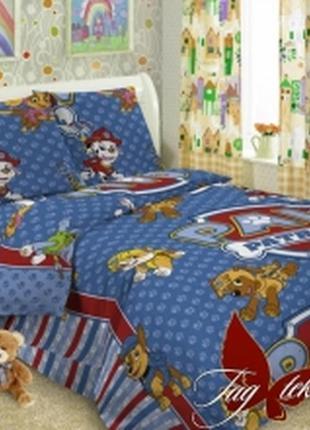 1,5-спальный комплект постельного белья детский tag поплин пат...