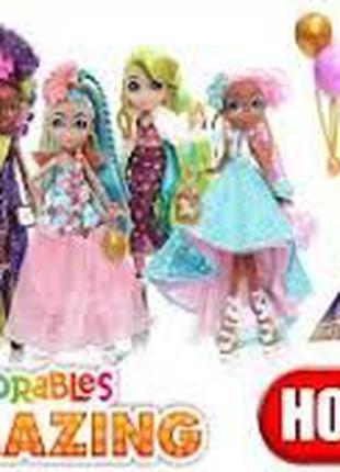 Большая Хэрдораблс в платьях Hairdorables Hairmazing 2-Ноа, Ви...