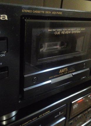 Stereo cassette deck AIWA AD-F410 (дека)