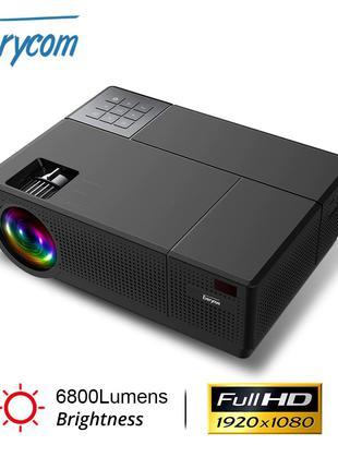 Everycom M9 Новый FULL HD LED проектор 6800 люмен AC3