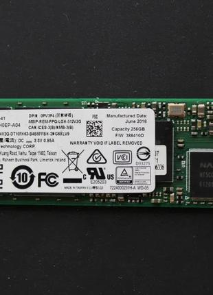 SSD 256Gb Lite-On M2 2280 Sata 3