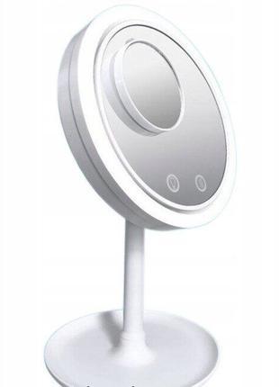 Косметическое зеркало Beauty Breeze Mirror с подсветкой и встроен