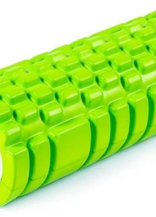 Ролик массажный для йоги и фитнеса Grid Roller Роллер Валик