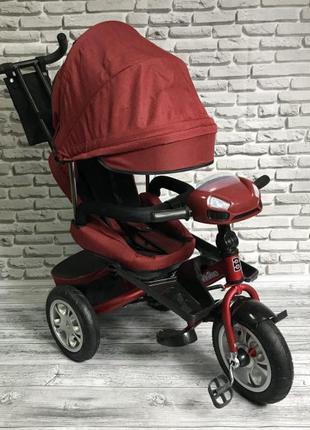 Детский трехколесный велосипед Active Way Best Trike 5099 красный