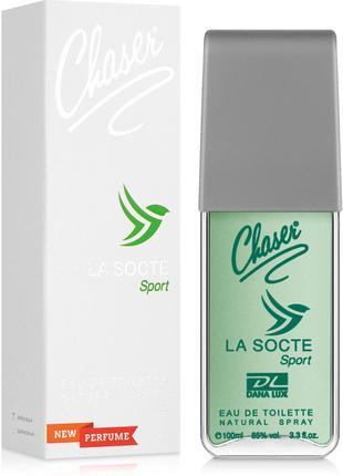 Туалетная вода для мужчин Chaser La Socte Sport 100ml