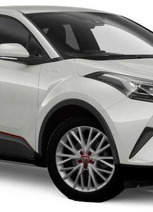 Наклейки тюнинг Toyota C-HR винил CHR Тойота