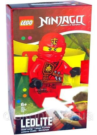 Lego налобный фонарик Ninjago Кай