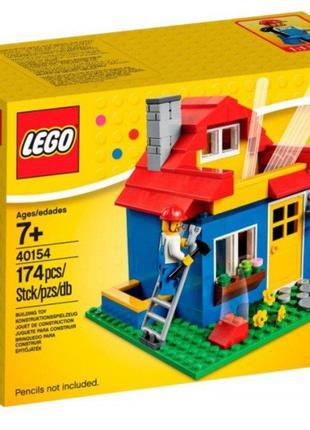 Lego Iconic Карандашница «Дом» 40154