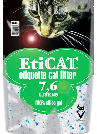 Силикагелевый Наполнитель для кошачьего туалета Eticat 7.6 л