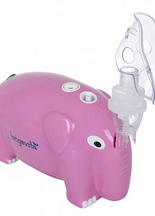 Компрессорный ингалятор Longevita CNB69012 Pink (Великобритания)
