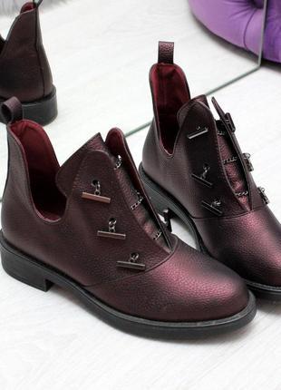 Шикарные дизайнерские женские туфли осень 2020  код 7230
