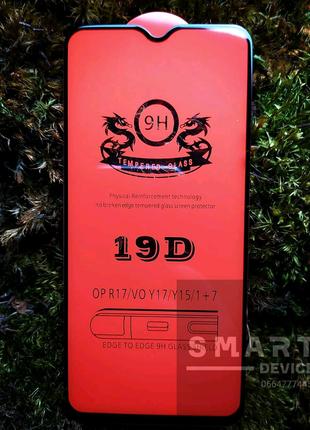 Защитное стекло 3D 19D для Xiaomi Redmi Note 8 (full glue)