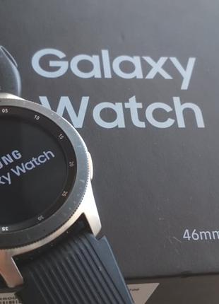 Годинник Samsung Galaxy Watch 46mm Silver SM-R800 смартчасы
