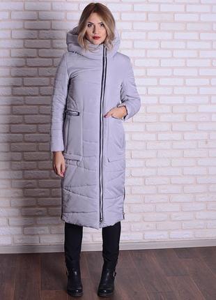 Скидка зимняя длинная куртка 44 46 54 56