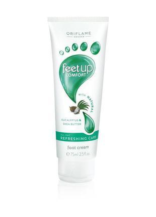 Освежающий крем для ног feet up comfort