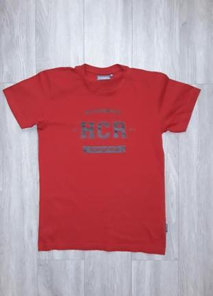Футболка на рост 164см, красная футболка