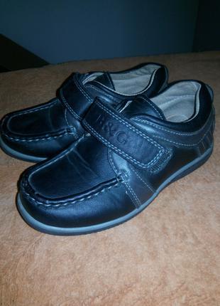 Детские,кожаные туфли