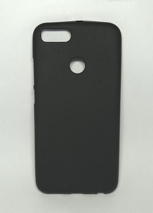 Задня накладка Xiaomi A1/Mi5x чорний сілікон
