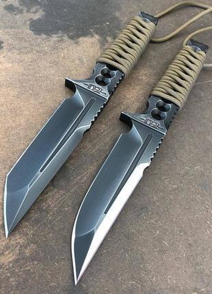 Ножи из суперстали и оригинальными ручками.