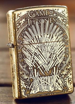 Zippo Game of Thrones Iron Throne игра престолов оригинал Stok13