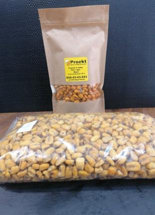 Кукуруза жареная соленая (снек, закуска к пиву)вкус СЫР 1 кг