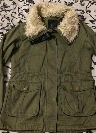 New look куртка парка