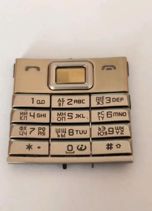 Клавиатура Nokia 8800 Sirocco Gold Новая