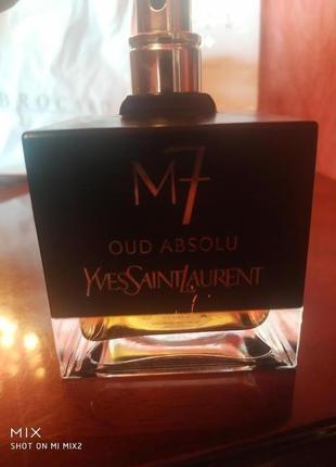 Bvlgari aqva pour homme - YSL M7 Oud absolu