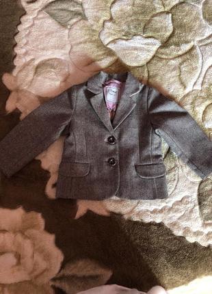 Пиджак next с красивым блеском, для вашей маленькой модницы