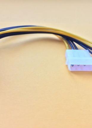 Кабель переходник питания GPU ATcom 2 Molex to 6/8 pin для видео