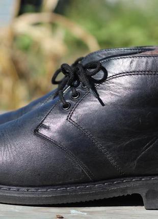 Кожаные зимние ботинки на цигейке continental