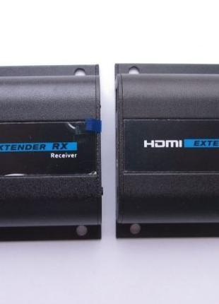 Активный экстендер LAN удлинитель HDMI FullHD по витой паре RJ-45