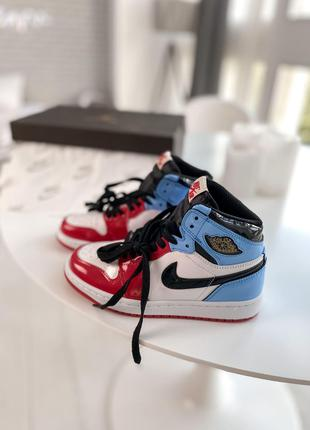 Кроссовки Nike Air Jordan 1 Retro High Blue Red