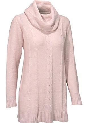Ангоровый свитер пастельных тонов- 42/44 европейский размер