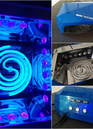 Продам УФ LED+CCFL ЛАМПА 36 Вт для сушки гель-лака/геля