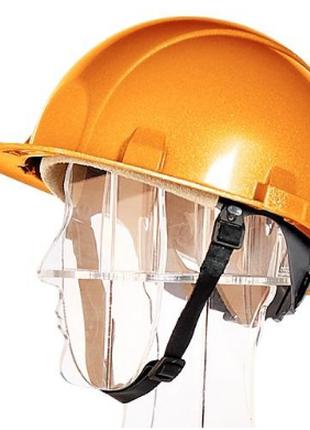 Каска защитная термостойкая золотистая