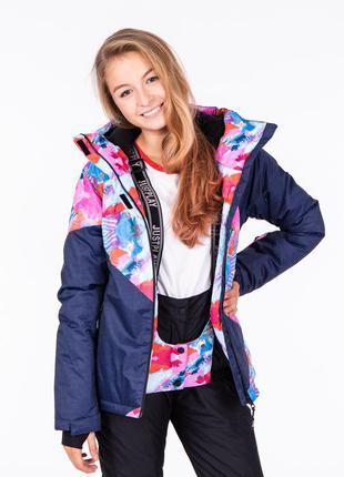 Куртка женская горнолыжная зимняя just play