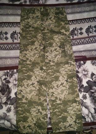 Форма армейская, пиксель, 52 размер. Штаны и пиджак