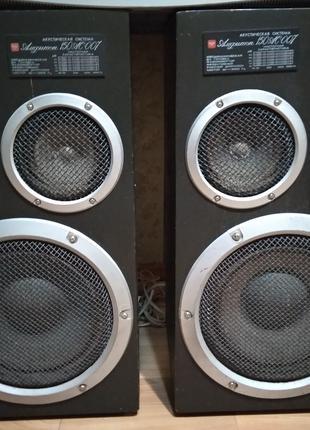 Колонки акустическ 150 АС-007 Амфитон+ усилитель Амфитон 75у 101С