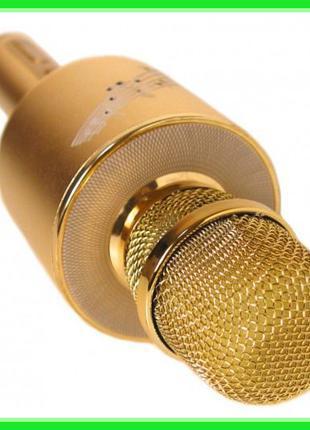 Беспроводной микрофон караоке блютуз YS 66 Bluetooth динамик U...