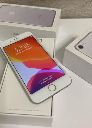 Apple iPhone 7 128gb. Работает с любым оператором! Б/у в идеал