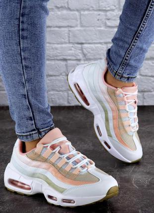 Кроссовки женские белые, жіночі кросівки, кроссовки с розовыми...