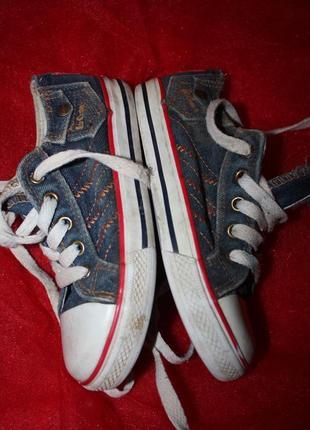Фирменные джинсовые  кеды ф.leecooper р-с12(р-31) в идеальном ...