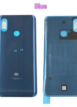 Задняя крышка Xiaomi Mi8 , синяя