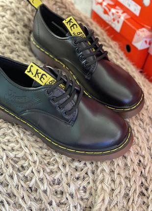 Чёрные стильные туфли