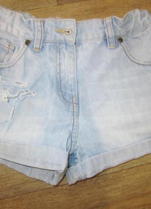 Джинсовые шорты на 12-13 лет