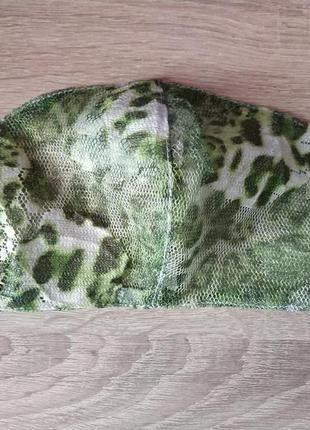 Люксовая маска прозрачная ( трава)