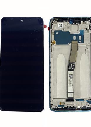 Оригинальный IPS дисплей в рамке для Xiaomi Redmi Note 9 Pro